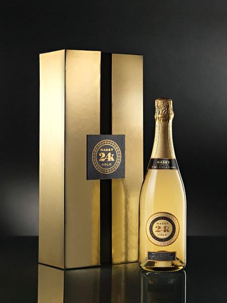 マセット 24K ゴールド スパークリングワイン 専用ギフト箱付