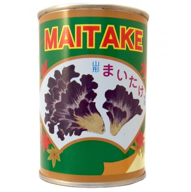 山形県産 【山菜缶詰】まいたけ (固形量:220g 内容総量:400g)
