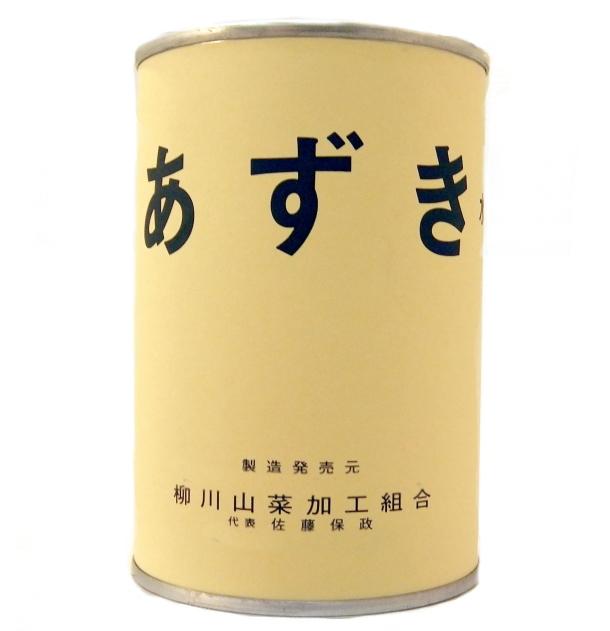 山形県産 あずき 缶詰 (固形量:380g 内容総量:400g)