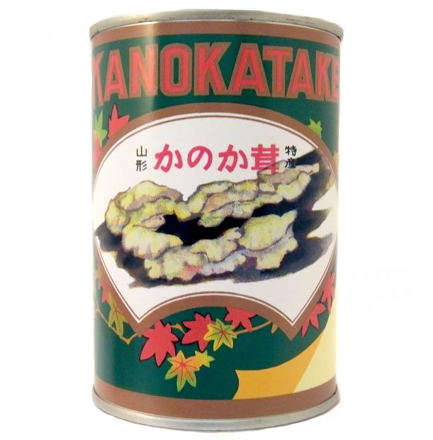 山形県産 【山菜缶詰】かのか (固形量:200g 内容総量:400g)