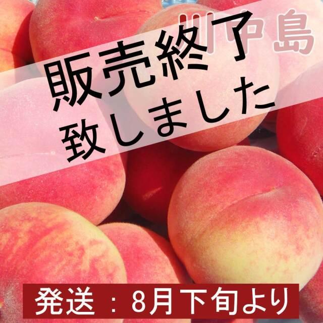 川中島(白桃)6玉 2kg【ギフト、お祝い、化粧箱、贈答用】