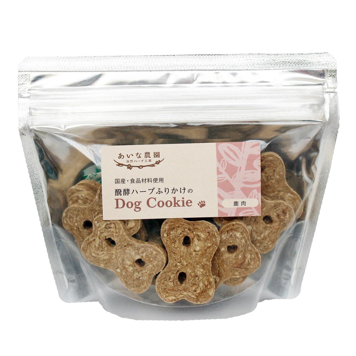 ドッグクッキー(鹿肉/大) 《30枚/約140g》【犬用】