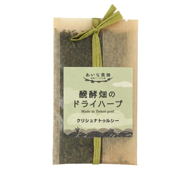 醗酵畑のドライハーブ、クリシュナトゥルシーのパッケージ