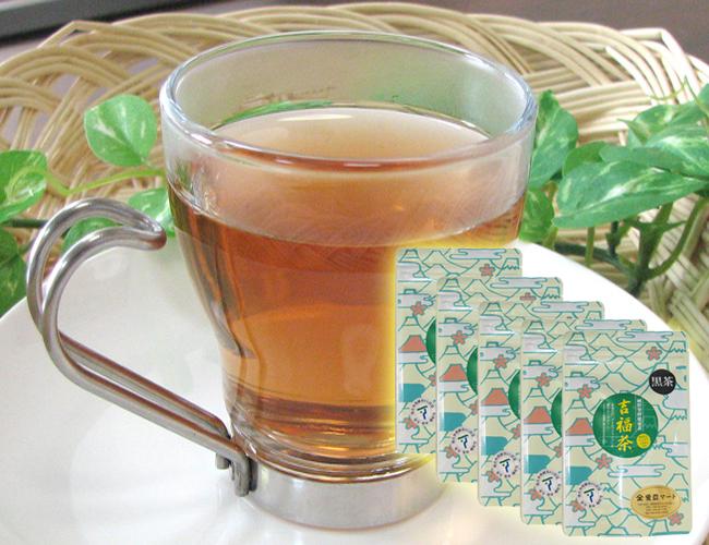 [送料無料] 国産ダイエットプーアール茶 吉福茶 (5g×10個入)× 5袋 ティーパックタイプ ダイエットにお悩みの方へ