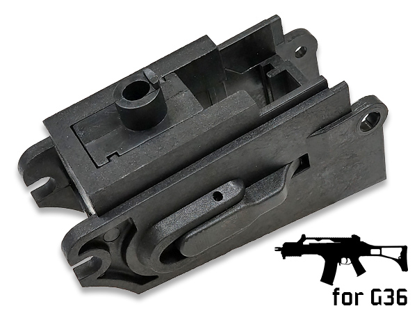 【ARMY FORCE製】G36用 M4マガジンアダプター プラスチック製 BK AF-MAG020