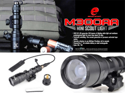 【SUREFIREタイプレプリカ】M300AA MINI SCOUT LIGHT Replica