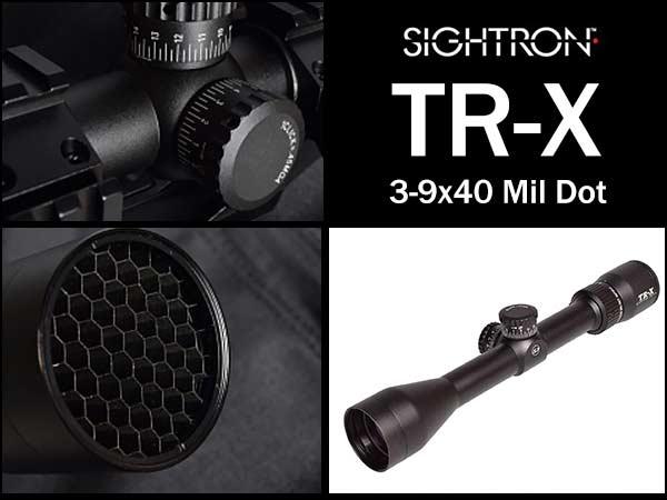 SIGHTRON サイトロン TR-X 3-9x40 MDスコープ/R501