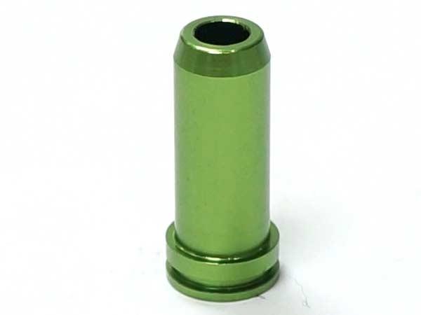 □【ネコポス可】【訳あり超特価】【金属製】G36C Aluminum Air Seal Nozzle Green / アルミ エアシールノズル (G36C) グリーン ※先端テーパー形状(国内法基準適用エアソフト専用品)