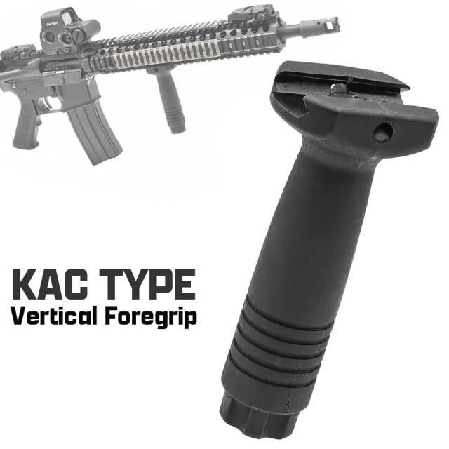 KAC タイプ バーティカル フォアグリップ 20mmレイル 対応 レプリカ 樹脂製