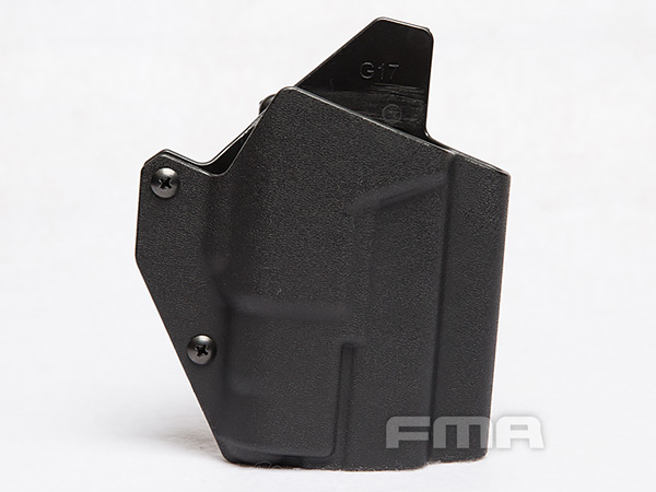 【FMA製】FMA G17 WITH Light-Bearing Holster TB1327-BK