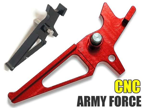 【ARMY FORCE製】 従来型M16/M4電動ガン対応 カスタムトリガー(Timer Straight Trigger)
