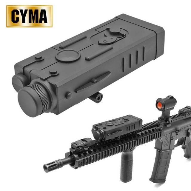 CYMA PEQ PEQ-2 バッテリーケース ダミー レーザー デバイス