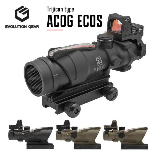 Evolution Gear ACOG ECOS 2021ver スコープ 4倍