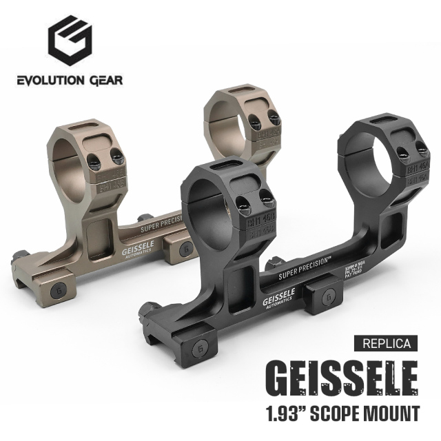 GEISSELE Super Precision スコープマウント 1.93 ハイマウント 30mm