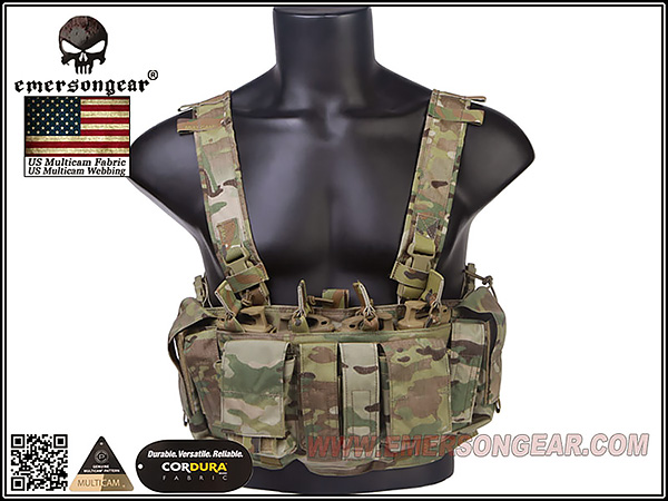 EmersonGear MF Style UW IV Chest Rig / EM7329MC