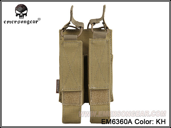 EmersonGear Modular Double MAG Pouch For:MP7 / EM6360A
