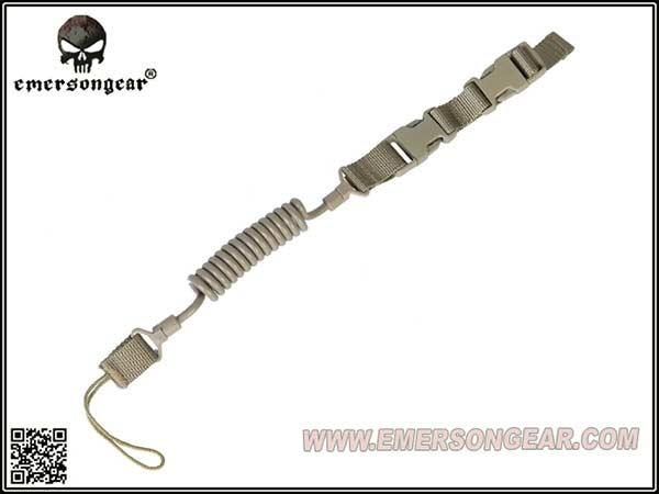 EMERSON製 ピストルランヤード ハンドガンスリング(ガンコード/ ピストルリーシュ)DE / EM8269A