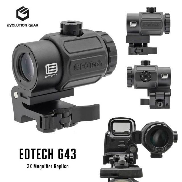 EVOLUTION GEAR EOTECH G43 Magnifier マグニファイア ブースター