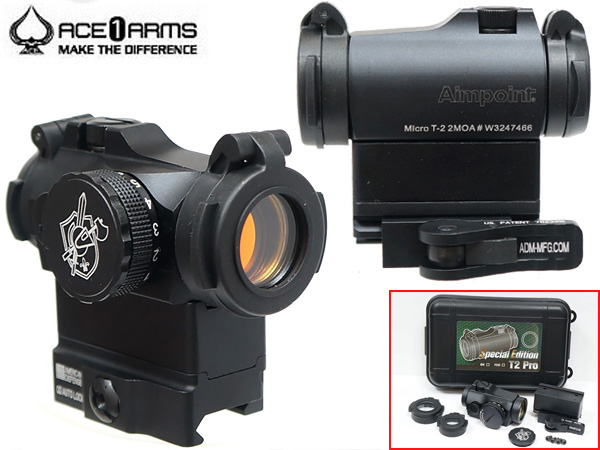 ACE1 ARMS Aimpoint Micro T-2タイプレッドドットサイト