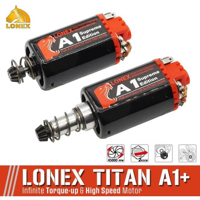 LONEXTITAN A1+ ハイトルク ハイスピード モーター ハイサイクル 流速 チューン