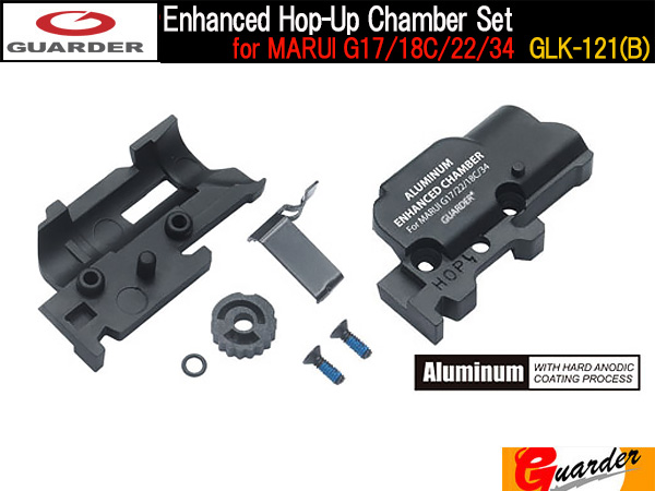 Enhanced Hop-Up Chamber Set for MARUI G17/18C/22/34 / GLK-121(B)