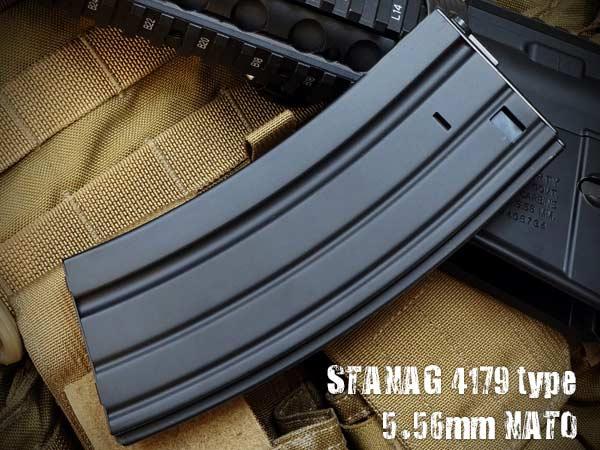 CYMA M007 M16/M4電動ガン用 スチールマガジン 190連 BK