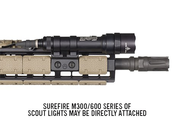 【本家米国MAGPUL社実物】Magpul M-LOK OFFSET LIGHT MOUNT, POLYMER