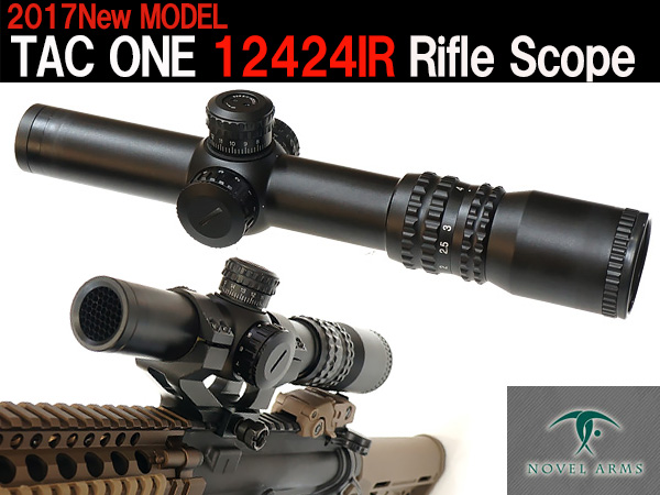NOVEL ARMS (ノーベルアームズ) TAC ONE 12424IR Rifle Scope