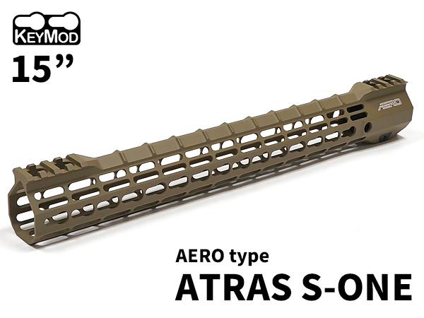 エアロ AERO ハンドガード キーモッド KEYMOD M4 次世代電動ガン ガスブローバックマシンガン