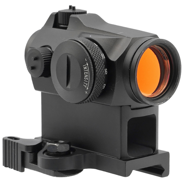 □【キルフラッシュ付】【サイド刻印モデル】【Aimpointタイプ】Micro T-2タイプ Red Dot サイト 【LT-660 type QDハイマウント】