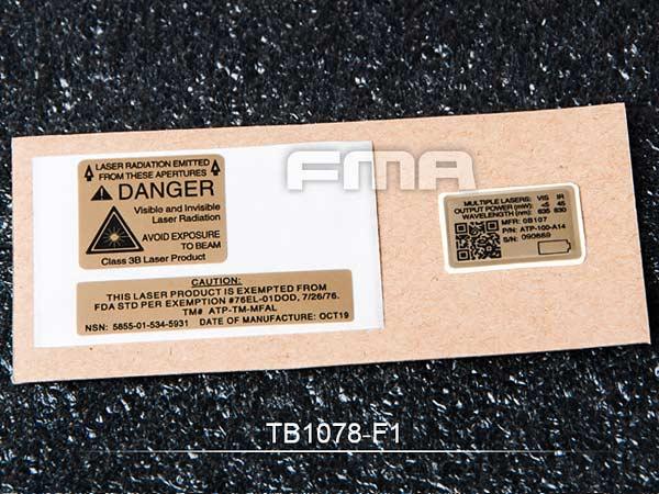 01 カスタムステッカー(LA5用MFALカスタムデカールセット)/ TB1078-01