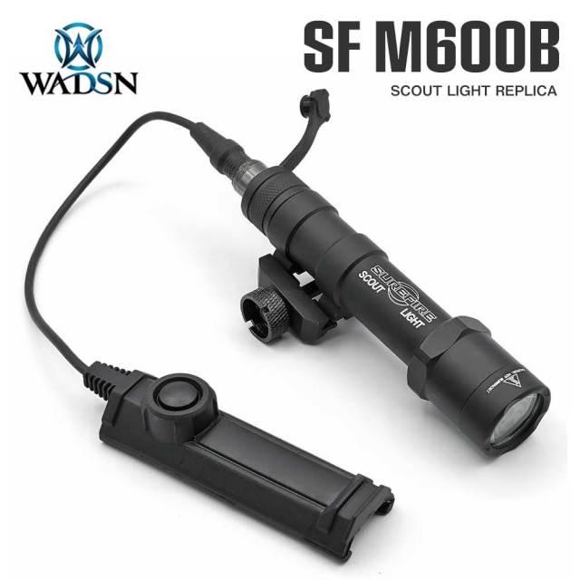 WADSN SUREFIRE M600B スカウトライト デュアルスイッチ