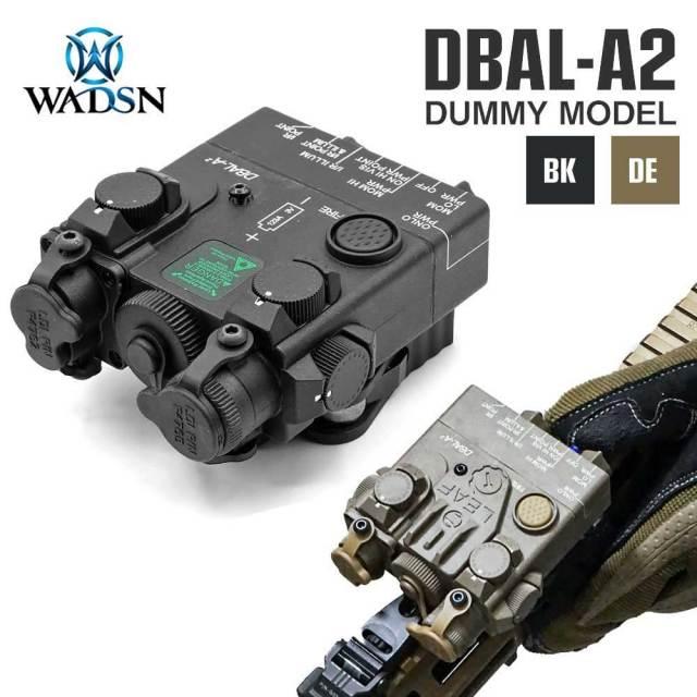 【WADSN製】 DBAL-A2 エイミングデバイス ダミー 20mmレイル対応 QDレバーマウント付 樹脂製 / WDX020