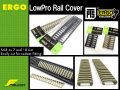 【ERGO&MAGPUL PTS】 ERGO LowPro Rail Cover (ロープロ レイルカバー)/2枚セット