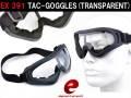 【ELEMENT製】TAC-GOGGLES / タクティカルゴーグル (UV400クリアレンズ) / EX391