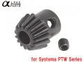 Alpha Parts CNC Hobbing Motor Pinion Gear for Systema PTW Series / APARTS-PTW18