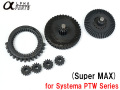 ALPHA CNC Hobbing Gear Set for Systema PTW Series (Super MAX) / APARTS-PTW23