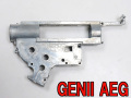 ☆8mmベアリング対応設計【ARMY FORCE製】 次世代M4系 メカボックス(ArmyForce Gearbox Shell for R43 GENII AEG)  金属製 / ARMY-025
