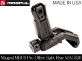 MAGPUL MBUS Pro Offset Sight-Rear MAG526