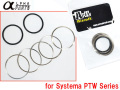 Alpha Parts Pipe Tube Cap Washers for Systema PTW M4 Series