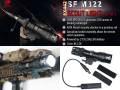 【SUREFIREタイプ】SF M322スカウトライトレプリカ (リモート付) / ELEMENT製/EX442