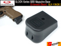 G-Series GBB Magazine Base (Extension/Black) / GLK-106(BK)