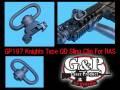 【G&P社製】GP197 / Knights Type QD Sling Clip For RAS / ナイツ・タイプ QDスリング・クリップ for RAS