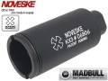 MADBULL製【Noveskeタイプレプリカ】KX3 フラッシュハイダー BK 14mm逆ネジ