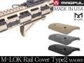 ☆【本家米国MAGPUL社実物】MAGPUL M-LOK Rail Cover Type 2 M-LOK Slot System MAG603 / マグプル実物 M-LOK レイルカバー タイプ2【実物MAGPUL(MADE IN USA)】(国内法基準適用エアソフト専用品)