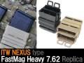 【ITW NEXUSタイプレプリカ】FastMag Heavy 7.62レプリカ 2個セット(7.62mmマガジン対応)