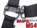 ★最新!!【MAGPULタイプレプリカ】MS4 Dual QD - Multi-Mission Sling(マグプルMS4スリングレプリカ デュアルQDスイベルモデル)