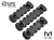 【DYTAC】M-LOK Polymer Rail Sections Set