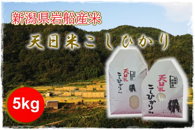 新潟県岩船産 天日米こしひかり
