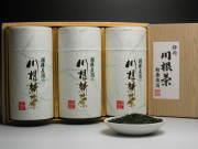 新茶200g缶3本詰合